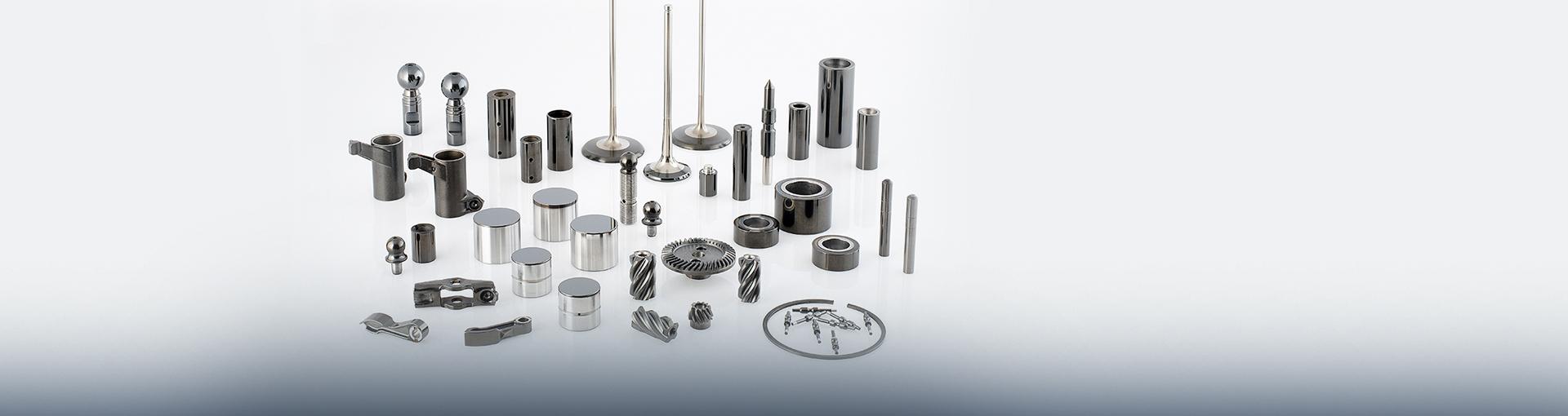 Componentes com revestimento de DLC - Certess™ Carbon